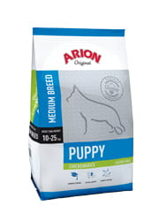 Karma dla psów Arion Original Puppy Medium chicken & rice 3kg